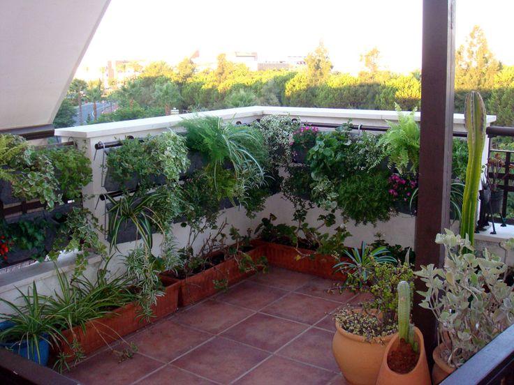 Jardines verticales para el balc n blog de in casas for Jardin vertical en balcon