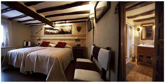 """HABITACIÓN  """"  CASTILLO DE CLAVIJO"""" La Casa de Lucas Turismo Rural, La Rioja"""