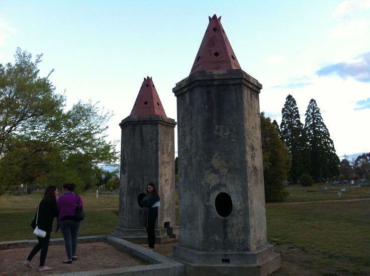 Beechworth - burning towers at beechworth cemetery