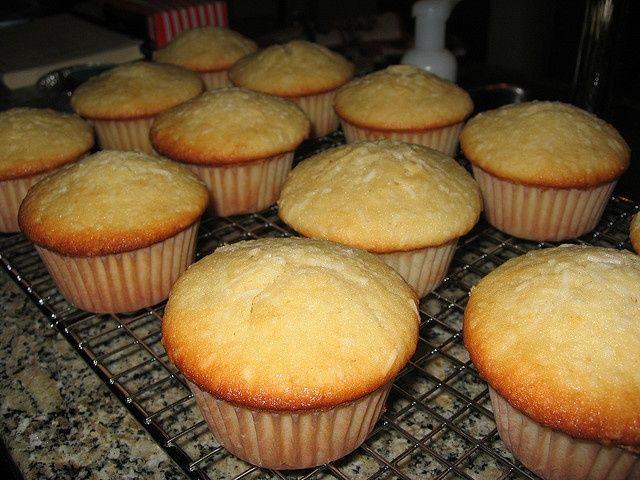Lowcarb Kokos Cupcakes