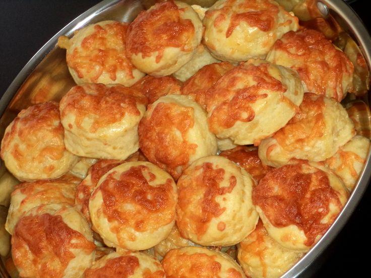 Pihe - puha túrós, füstölt sajtos pogácsa