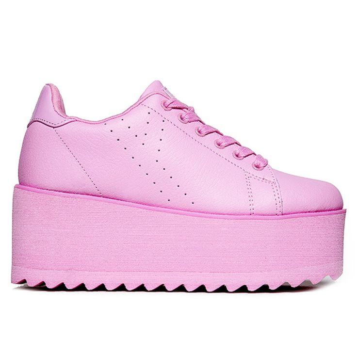 """Новый в коробке Y.R.U. YRU розовые """"лала"""" кроссовки на платформе размер 6, 7, 8, 9, 10-РАСПРОДАЖА   Одежда, обувь и аксессуары, Женская обувь, Для спорта   eBay!"""