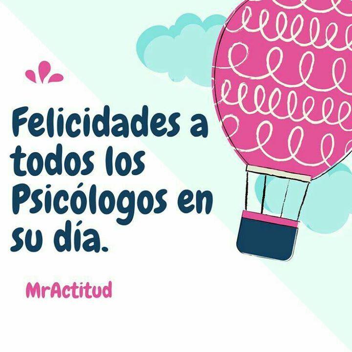 Felicidades en su día a todos los Psicologos en Colombia. Dale un abrazo a uno de estos maravillosos profesionales. Esa es una super @MrActitud  #MrActitudDiasEspeciales