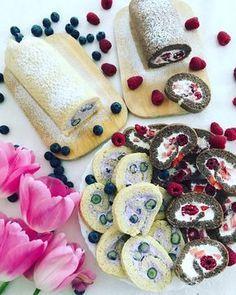 Piskótatekercs cukor és liszt nélkül – Csehi Renáta