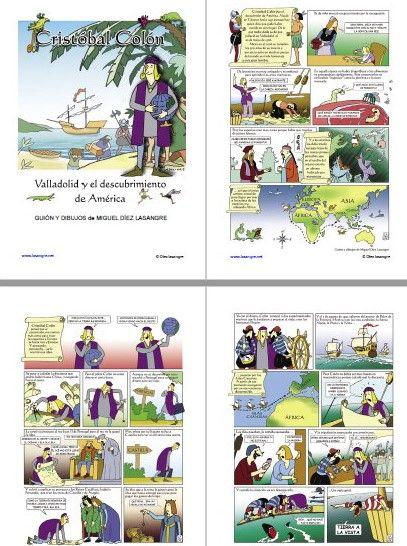 Cómic de Cristóbal Colón y el descubrimiento de América - https://materialeducativo.org/comic-de-cristobal-colon-y-el-descubrimiento-de-america/