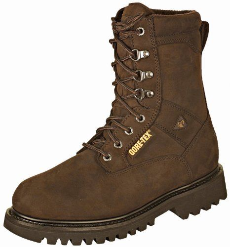 Rocky Mens 9 Ranger Steel Toe Insulated Gore Tex WP Work Boots 6223