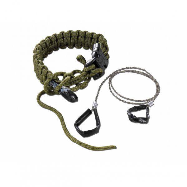 Survival-Armband mit Säge