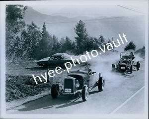 """8x10 Movie Photo about CA96  1968 Original Photo  Hank Williams Jr Car Racing in the movie """" A Time To Sing """""""