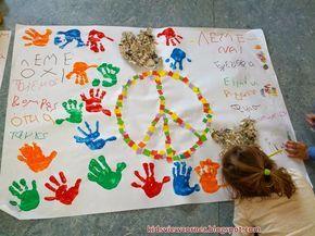 Παιδικές Πινελιές!!!: Ειρήνη-Πόλεμος