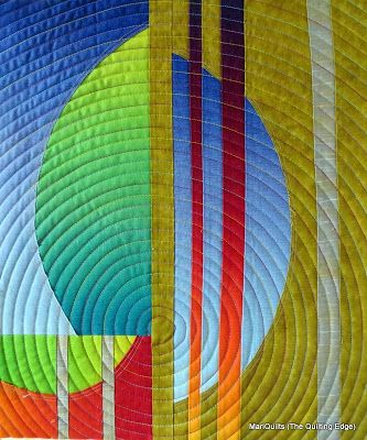 The Quilting Edge  love those circles...and the design