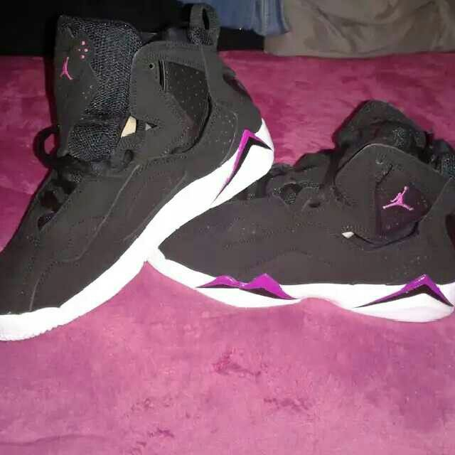 more photos 7adce 4a4b3 Jordan True Flight GG(black fuchsia blast-white) for my Princess