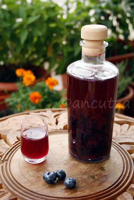 Ricetta liquore ai mirtilli