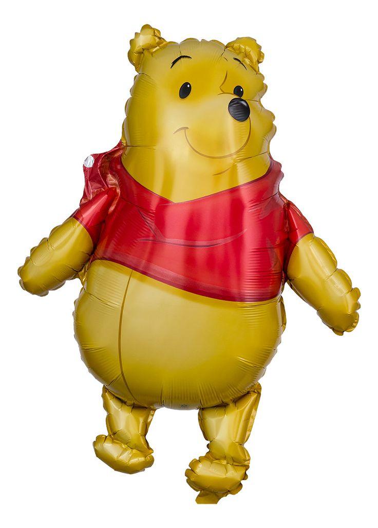 Wer sich Winnie Puuh als fliegenden Begleiter wünscht, kommt an diesem lustigen Folienballon nur schwer vorbei. Er sieht seinem Original täuschend ähnlich. Statt Honig freut sich unser Winnie Puuh über eine gelegentliche Füllung Heliumgas.