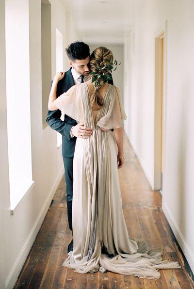 This inspiration is a dream: http://www.stylemepretty.com/2015/05/04/part-ii-organic-minimal-wedding-inspiration/   Photography: Megan Robinson - http://www.meganrobinsonblog.com/