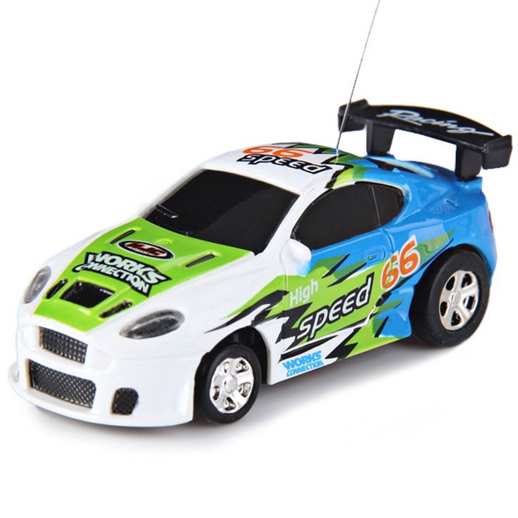 Hot Mini RC Car Remote Controlled Coke Can Shape Racing Car Built-in Rechargeable Battery Multifunction RC Car Toys kids Gifts