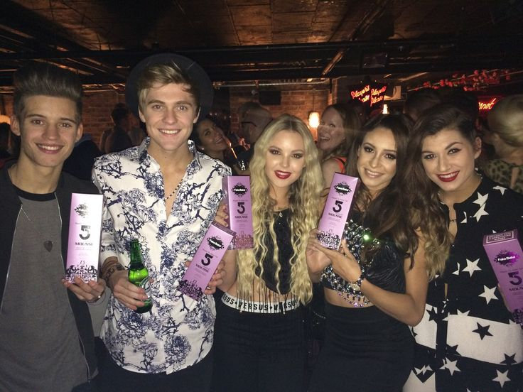 Our lovely RWFI judge and friend Danielle Peazer introduced us to X Factor supergroup Only The Young - we predict a bright future for them!
