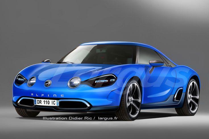 Nouvelle Alpine Renault : et si la future Berlinette ressemblait à ça