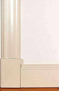 Fönsterfoder och golvsocklar | www.allmoge.se
