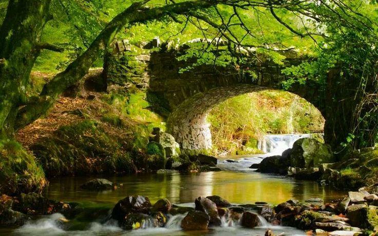 Robbers bridge, Exmoor, Somerset