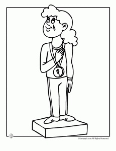 Olympics Coloring Pages to Print