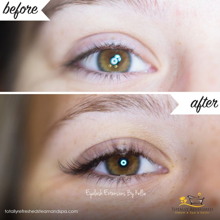 Beautiful Eyelash Extensions - No Make up for days