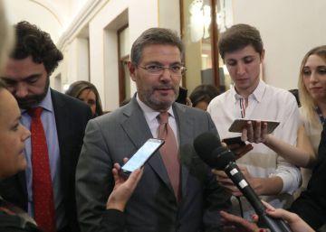 Rafael Catalá confirma que el 155 terminará con las elecciones catalanas
