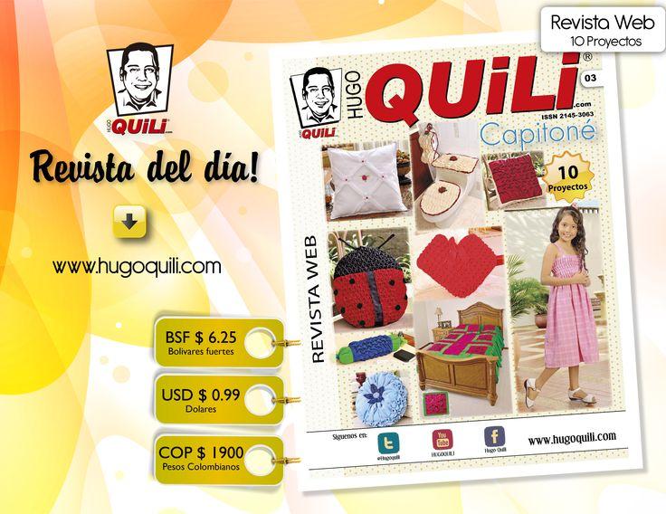 Descarga nuestra revista web Capitoné No. 3 por solo 0.99 USD