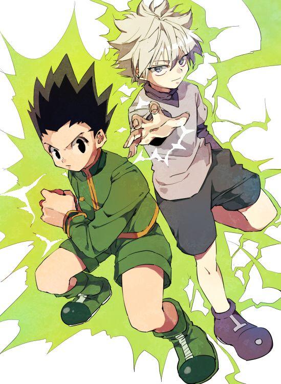 Hunter x Hunter - Gon & Kirua