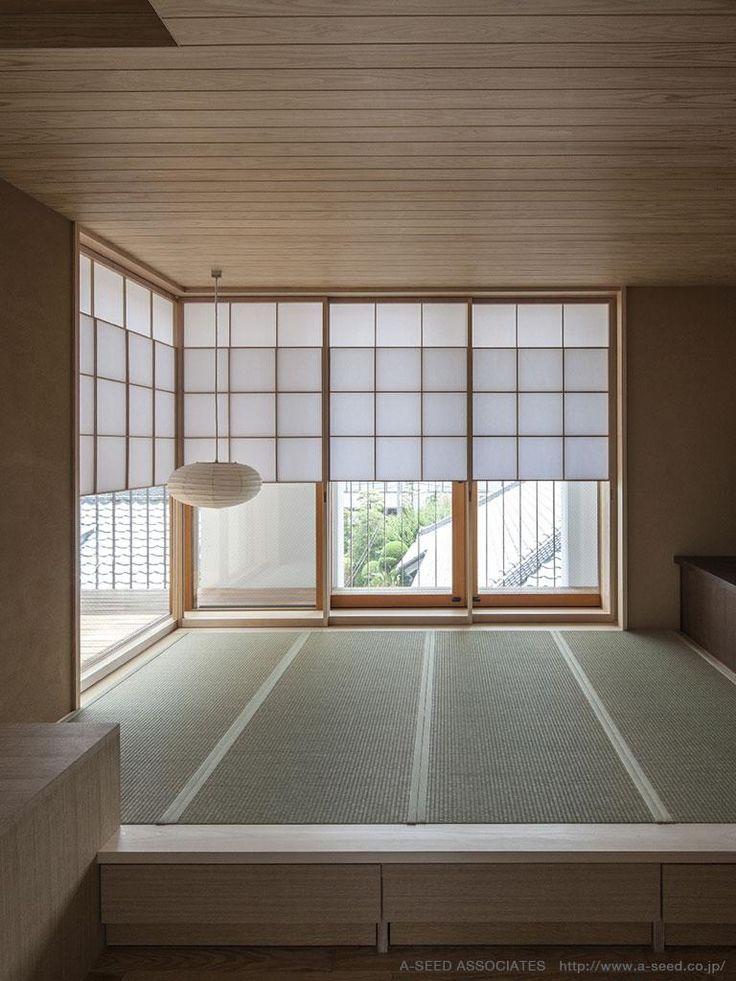 和室の床下収納(庭と共に時を刻む家「Garden on garden」) - その他事例|SUVACO(スバコ)