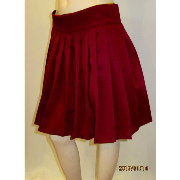 Wine Colour Heavy Pleated Skirt~Burgundy Pleated Skirt~Maroon Colour... (26 AUD) ❤ liked on Polyvore featuring skirts, brown, women's clothing, long wrap skirt, burgundy pleated skirt, brown pleated skirt, long burgundy skirt and brown skirt