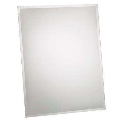DOMESTIC spejl 1/2 facetkant / Bredde: 60 cm / Højde: 80 cm