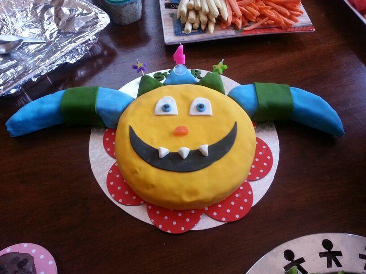 Niece 4th birthday Henry huggle monster