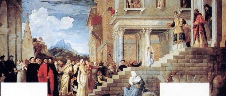 Тициан. Введение Марии во храм