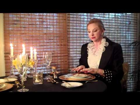 Etiquette, Manners, Charm Finishing School by Gloria Starr - YouTube
