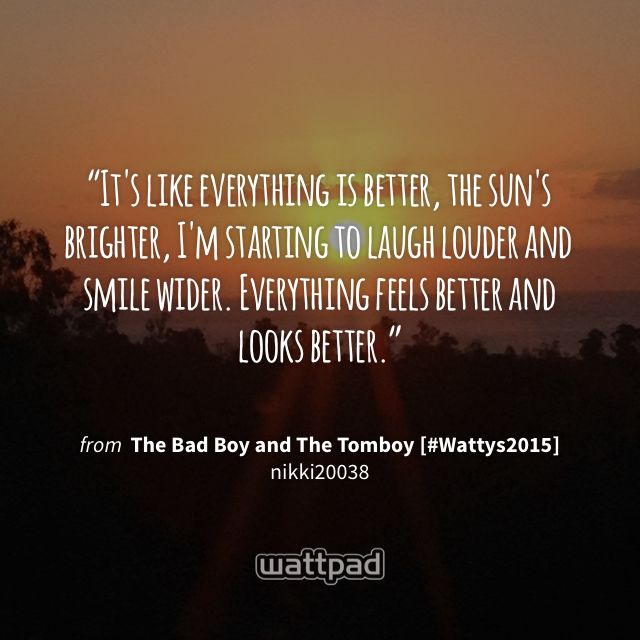The Bad Boy and The Tomboy [PUBLISHED] - Chapter Seventy ...
