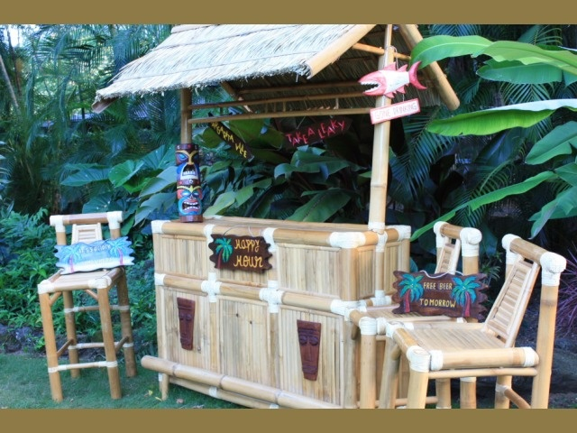 Weekend Is Coming And Everyone Is Headed Off To Margaritaville, Their Margaritaville  Outdoor Tiki Bar That Is! With Patio Bar Furniture Like The Margarita ...