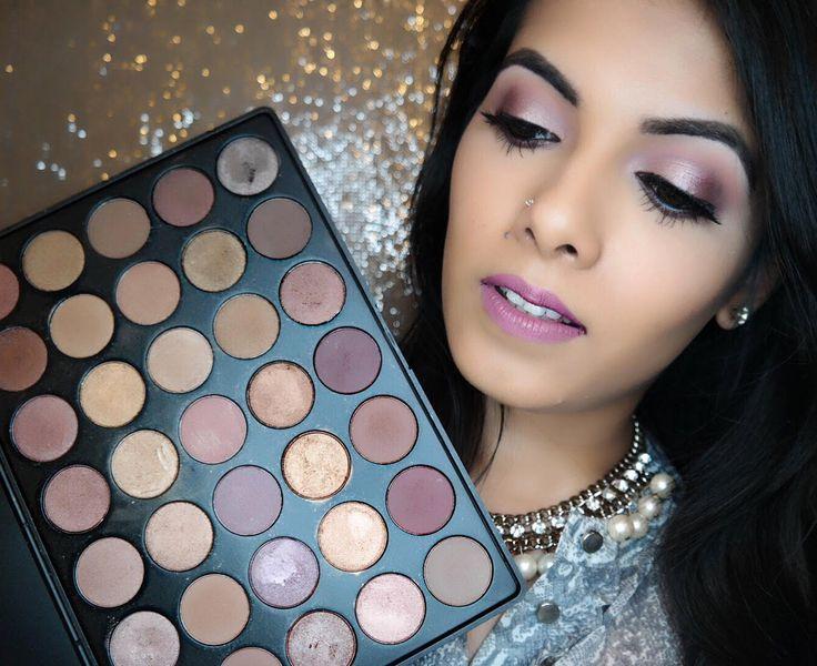 Cool Toned Makeup | Morphe 35T Palette