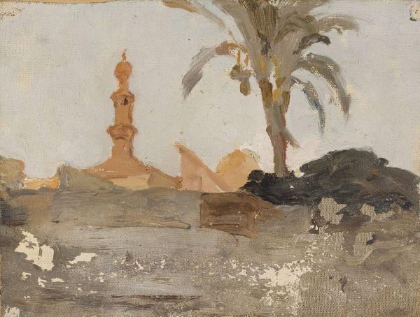 Kair Z podróży do Egiptu - Jan Ciągliński