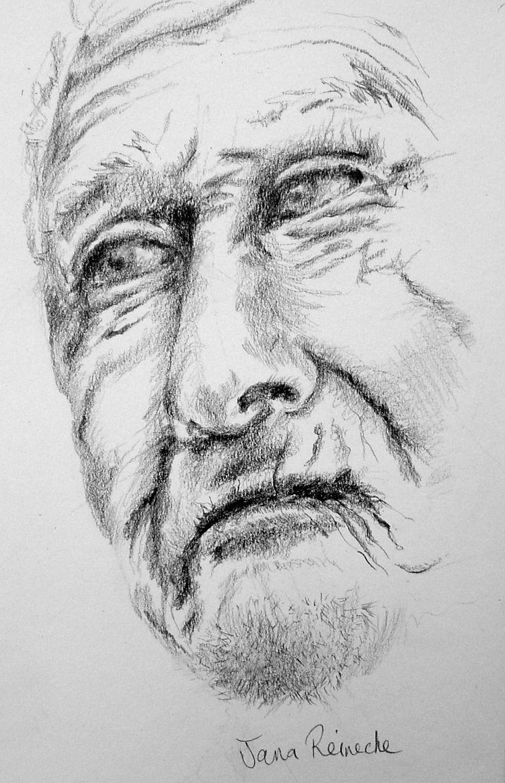 portrait.art.painting.charcoal on paper