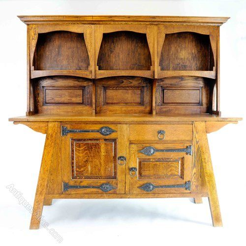 Arts U0026 Crafts Oak Dresser By Wyburd For Liberty   Antiques Atlas