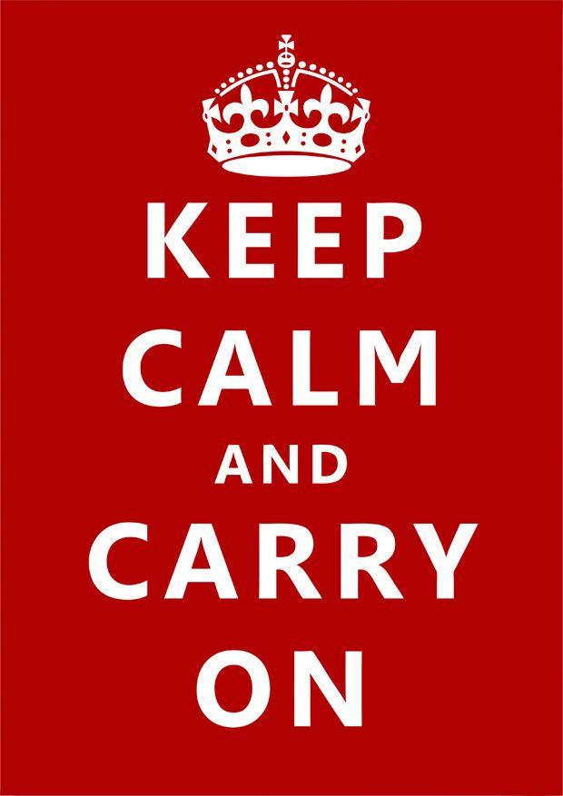 """A história por trás do cartaz """"Keep Calm"""""""