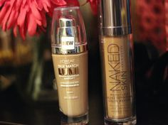 Urban Decay NAKED foundation dupe: Loreal True Match Lumi. The Loreal doesn't have QUITE the staying power, but a bit of setting powder gets it up there.