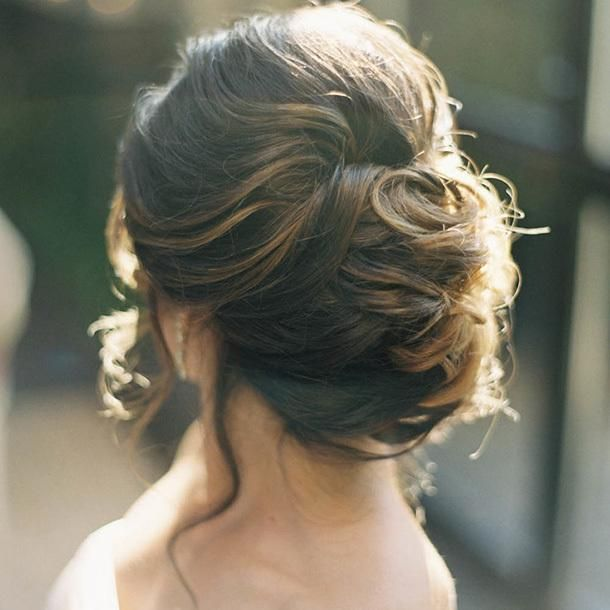 7 stunning wedding updos for every type of bride updo for Updos for wedding