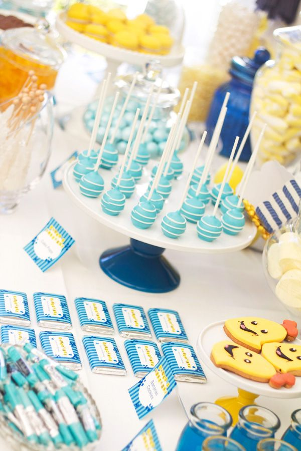 Bananas in Pajamas Birthday Party - Bella Paris Designs