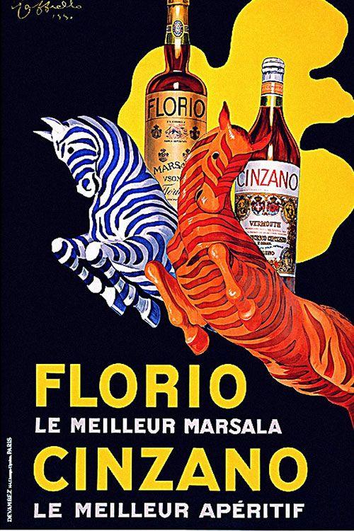 7 vintage posters of Leonetto Cappiello
