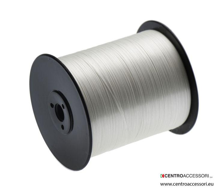 Treccina per ripiegatrice. Flat bonded nylon thread. #CentroAccessori
