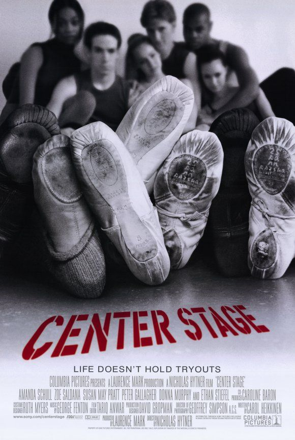 Center Stage - This movie is my guilty pleasure.  God, I miss dancing so much.  I will go back someday just for fun.  And omg Zoe Saldana is amazing.