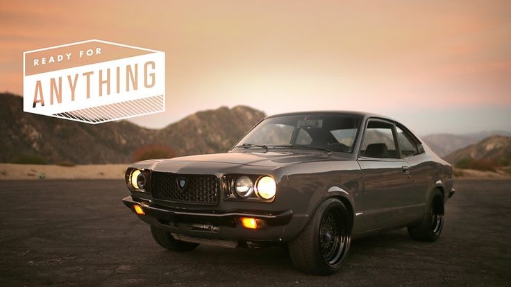 Petrolicious profiles MMA figher Savant Young's Mazda RX-3, a modified edition that turns the original car on its head, in its latest video.