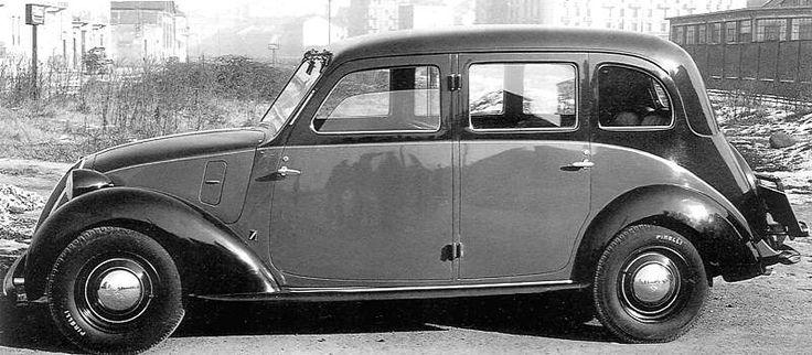 Fiat 508 C / Balilla 1100, 1100 L, NSU-Fiat 1100, Simca 8 - 1937-40