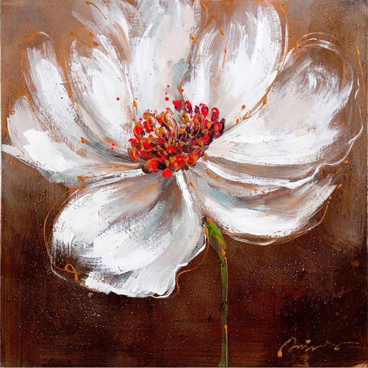 les 25 meilleures idées de la catégorie fleurs peintes sur